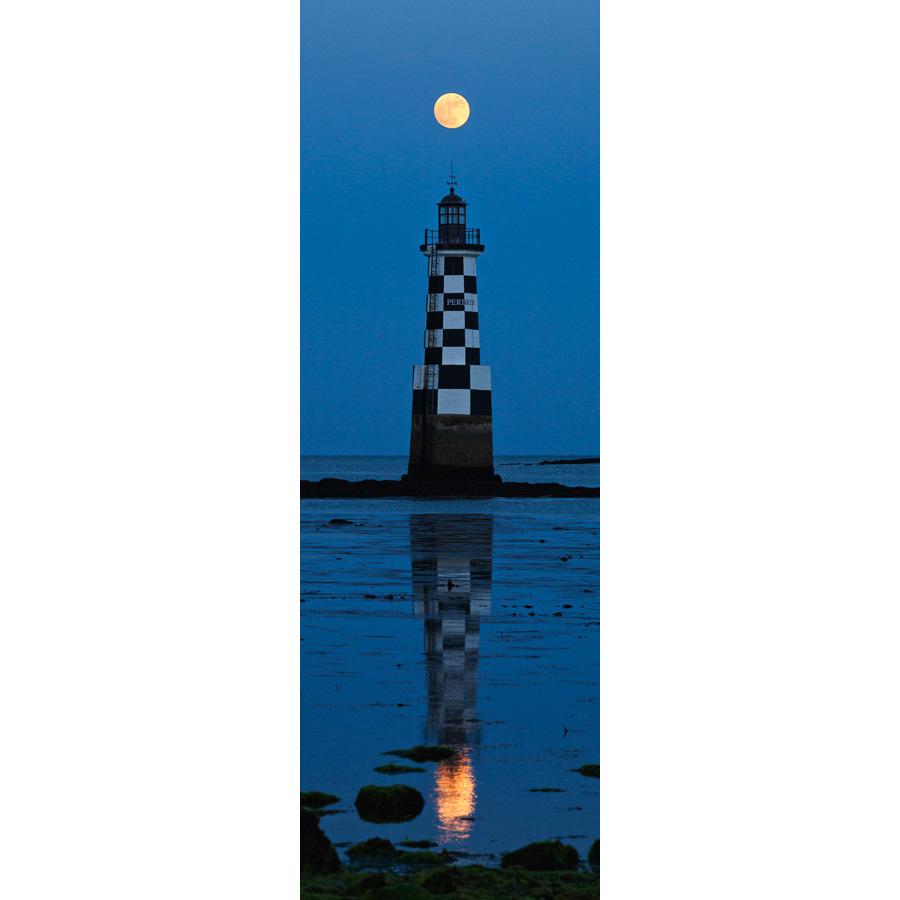 Île-Tudy : Pleine Lune au-dessus de la Perdrix