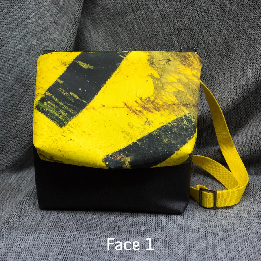 """Double Sacaméléon """"Touret jaune"""" : Face 1"""