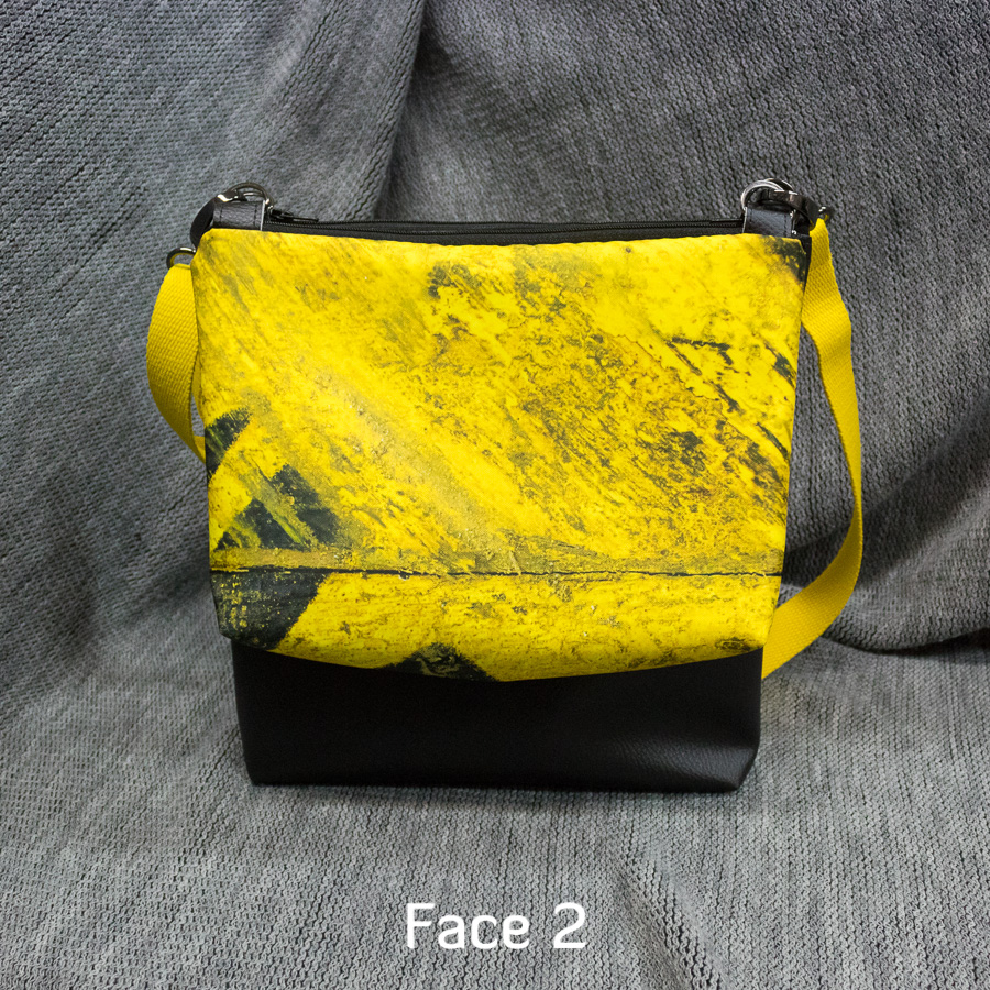 """Double Sacaméléon """"Touret jaune"""" : Face 2"""