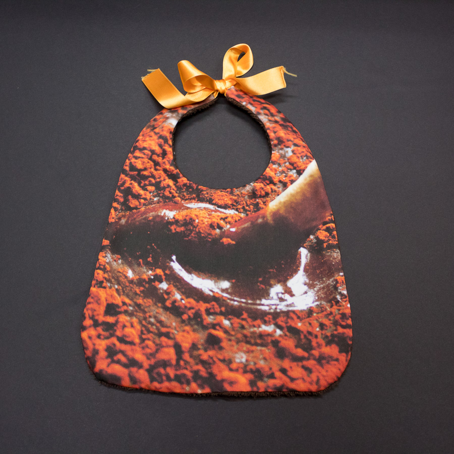 "Bavoir ""Chocolat"""