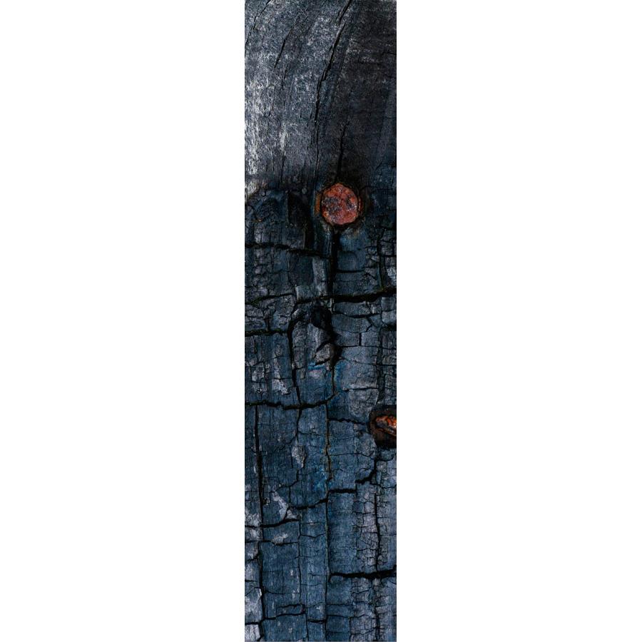 Photo Panoramique 16×66 Cm Bois Br L Clout Les T Tes De L Art # Banc En Bois Brule