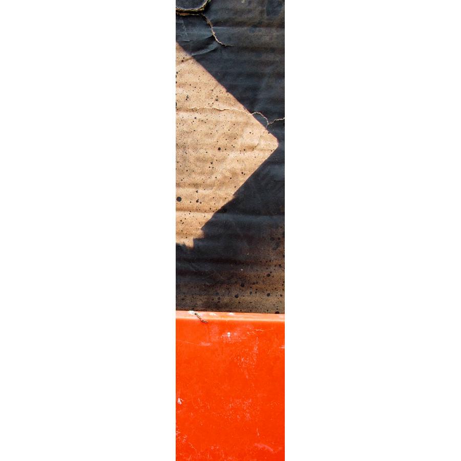 """Photo panoramique 16 x 66 """"Carton orange"""""""