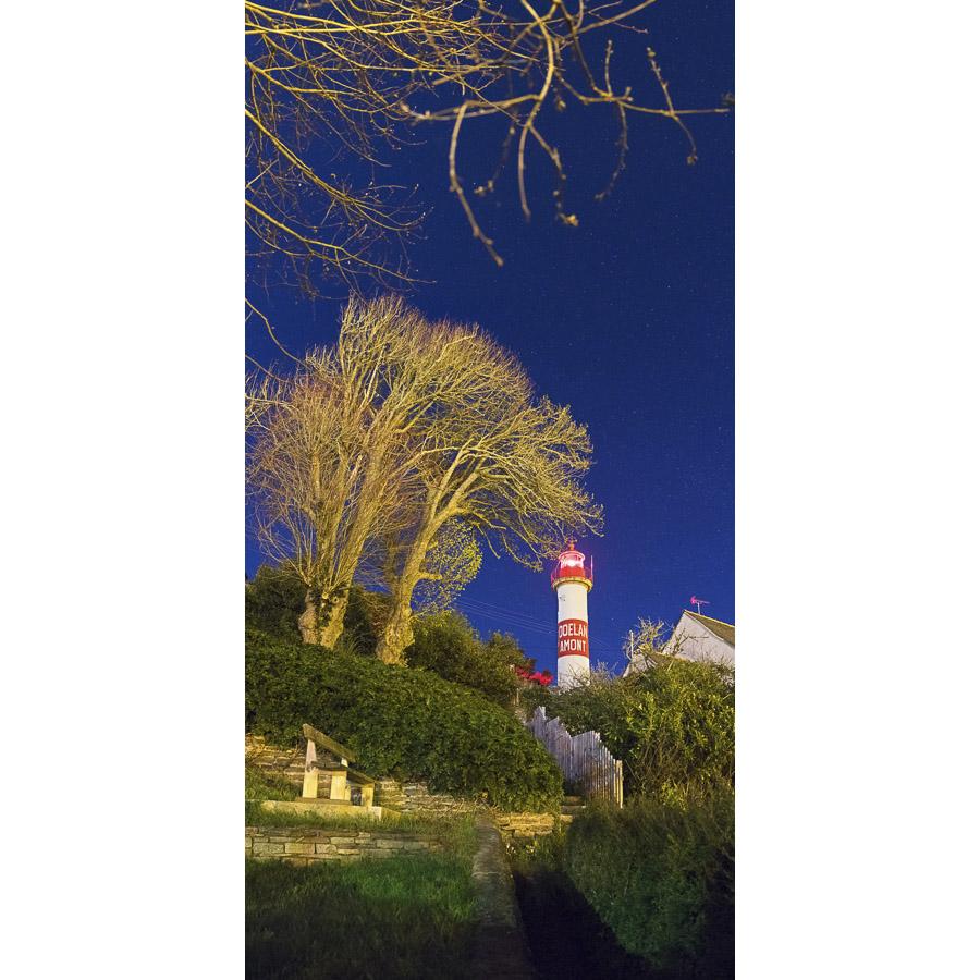 Doëlan : Le phare de Doëlan Amont