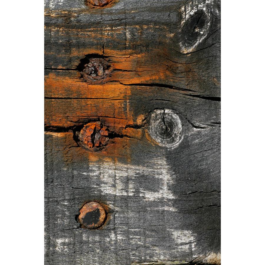 Photo Bois Br L Clou Orange Les T Tes De L Art # Banc En Bois Brule