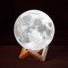 Lune imprimée en 3D