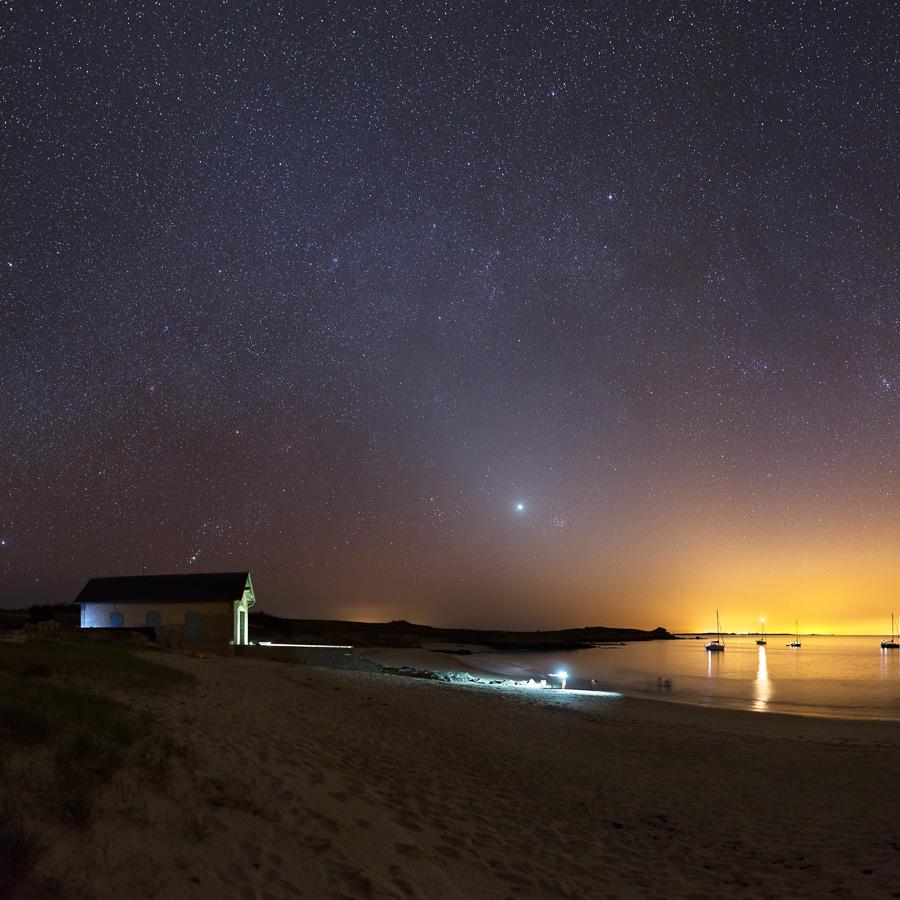 Île d'Hoëdic : Bâtiment du cannot de sauvetage