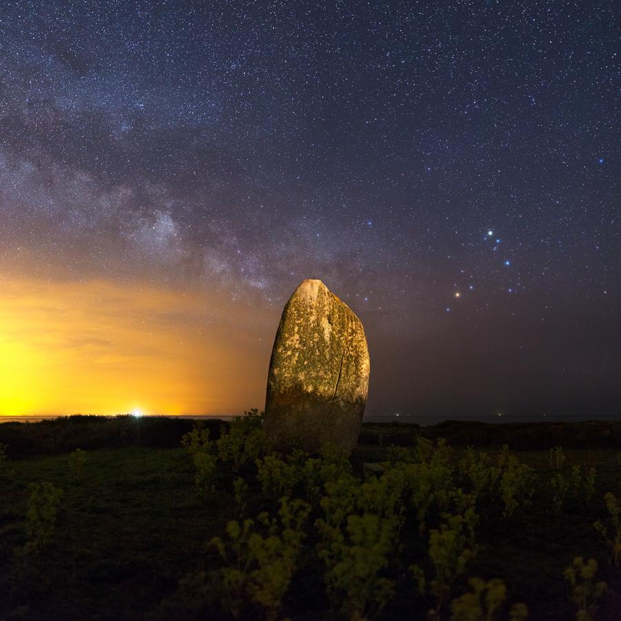 Île d'Hoëdic : Le Menhir