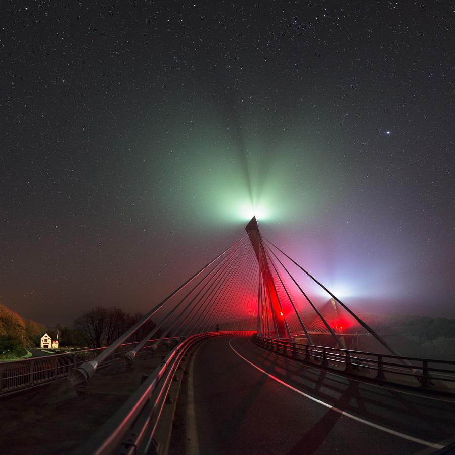 Rosnoën : Pont de Térenez