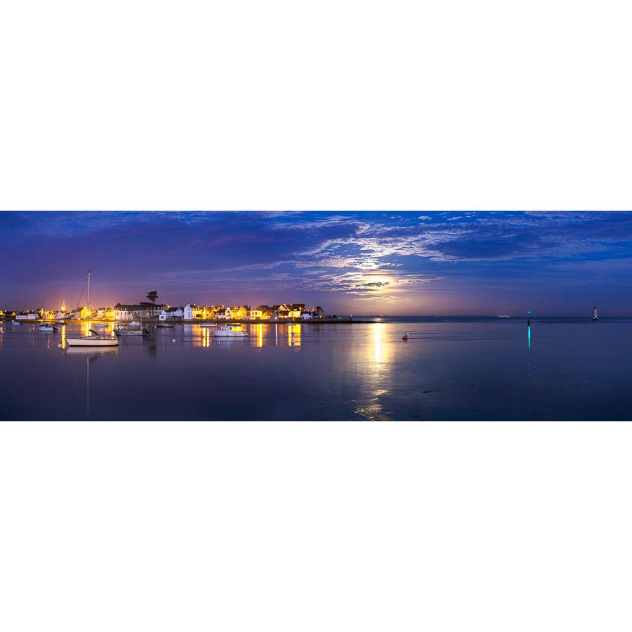 Île-Tudy : Vue depuis Loctudy