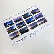 "Calendrier 2018 ""Nuits de Bretagne"""