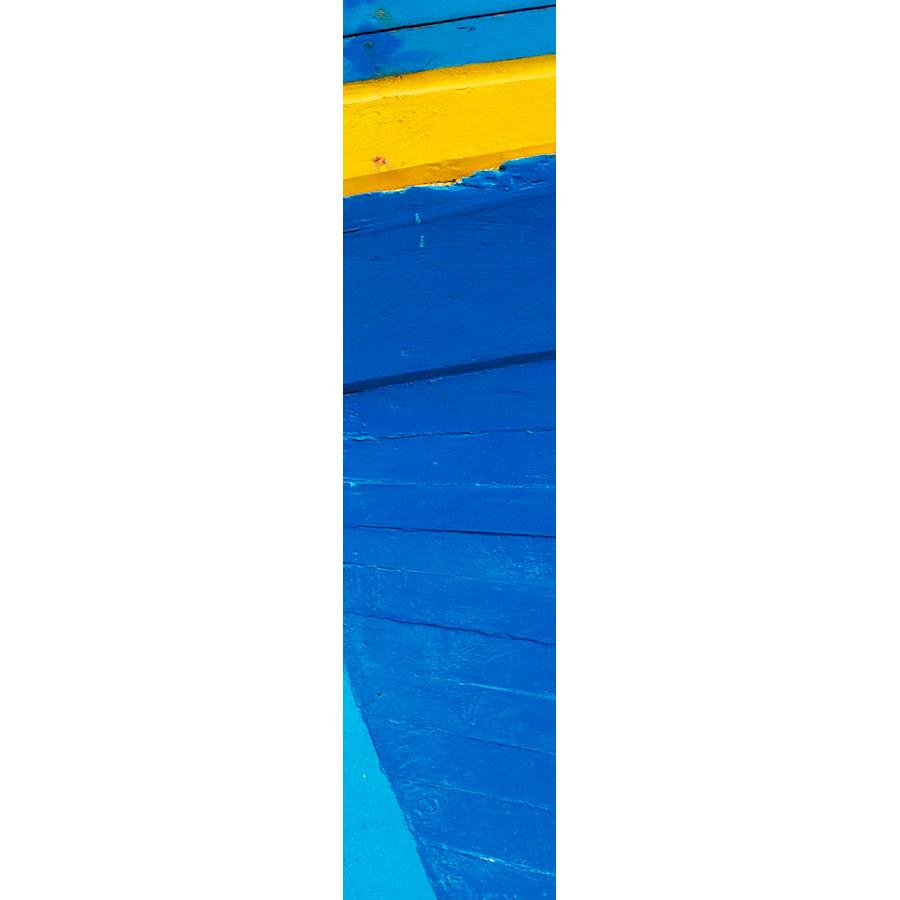 """Photo panoramique 16 x 66 """"Coque bleu et jaune"""""""