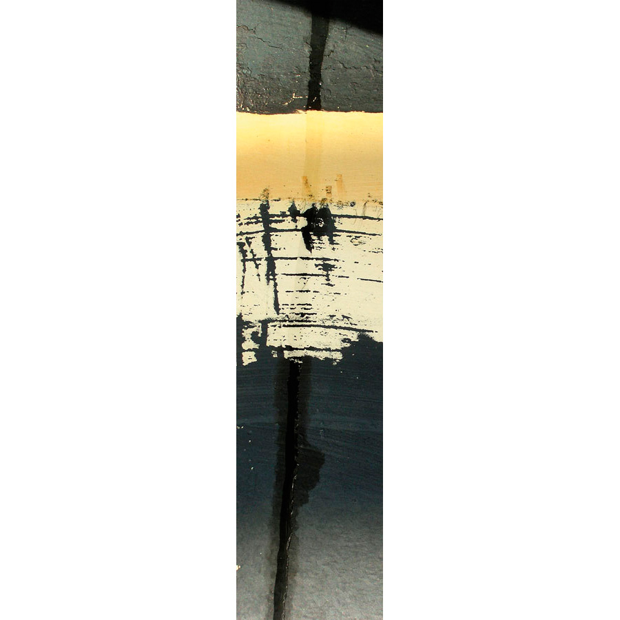 """Photo panoramique 16 x 66 """"Coque jaune et noire"""""""