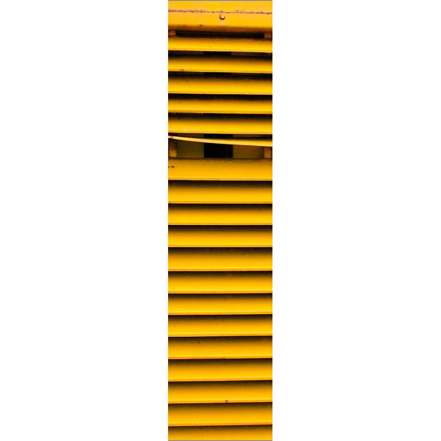 "Photo panoramique 16 x 66 ""Lames jaunes"""