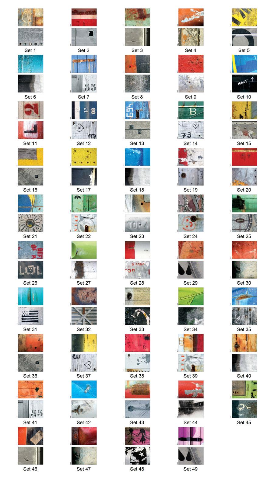 Tous les sets de table réversibles de Sabine Sannier