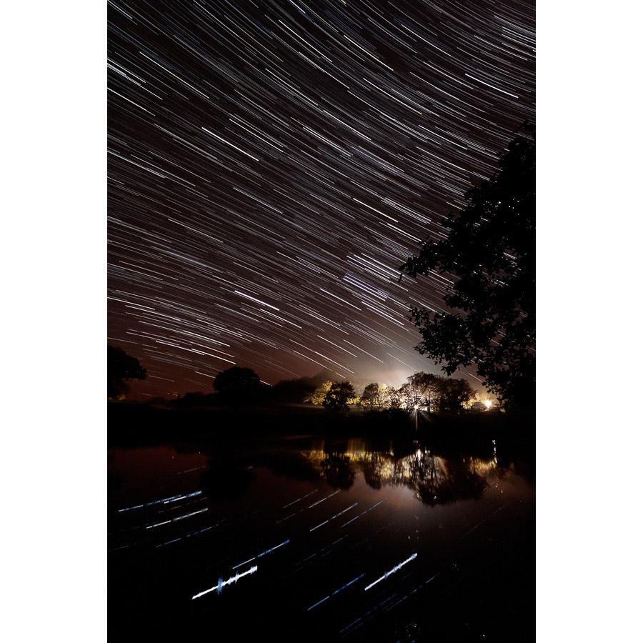 Quimper : Filés d'étoiles sur l'Odet