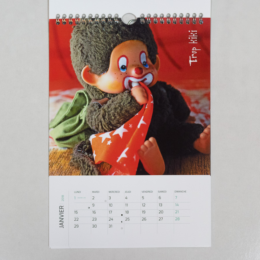 Calendrier enfants 2018