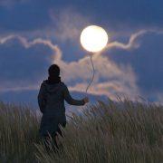 """Photo """"La Pleine Lune comme un ballon de baudruche"""""""