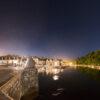 Auray : Saint-Goustan sous la Voie lactée