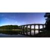 Auray : le pont SNCF sur Le Loc'h