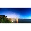 Concarneau : plage des Sables Blancs de nuit