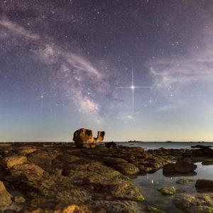 Loctudy : Le Rocher de la Tortue et Jupiter