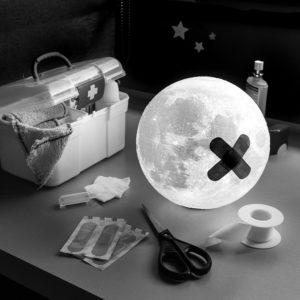 """Photo """"La Lune chez le docteur"""""""