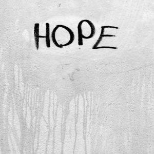 """Photo Brève de rue """"Hope"""""""