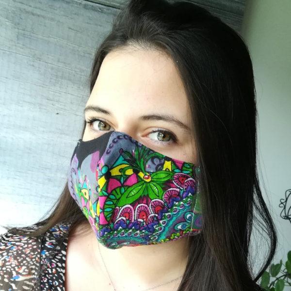 """Masque des """"Têtes de l'Art"""""""