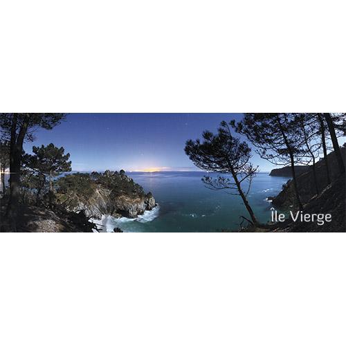 """Magnet """"L'Île Vierge de nuit"""""""