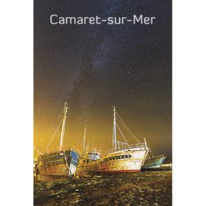 """Magnet """"Camaret-sur-Mer de nuit"""""""