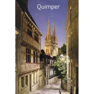 """Magnet """"La plus belle vue de Quimper"""""""