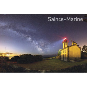 """Magnet """"Le Feu de Combrit à Sainte-Marine"""""""