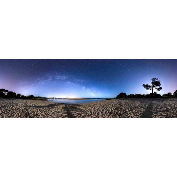 """Photo """"Bénodet : La plage du Letty et la Pointe de Mousterlin"""""""