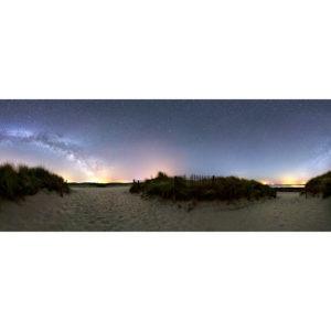 """Photo """"La Torche : les dunes sous la Voie lactée"""""""