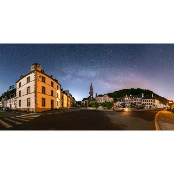 """Photo """"Port-Launay : le centre bourg de nuit"""""""