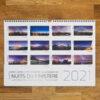 """calendrier 2021 """"Nuits du Finistère"""""""