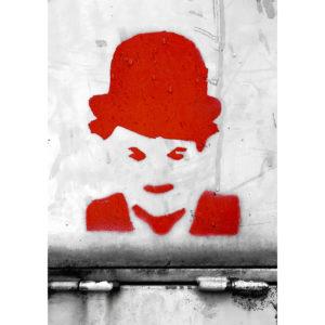 """Photo à encadrer Brèves de rue """"Chaplin"""""""