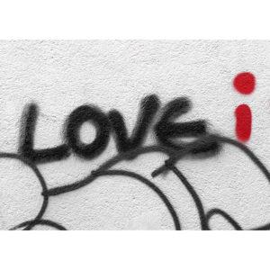 """Photo à encadrer Brèves de rue """"Love I"""""""
