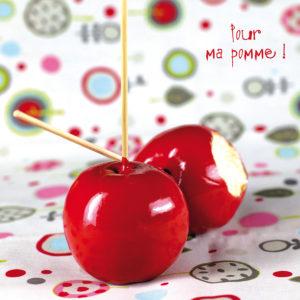 """Photo à encadrer Clin d'oeil """"Pour ma pomme"""""""