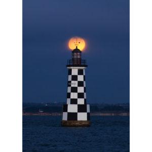 """Photo A4 à encadrer """"Loctudy : phare des Perdrix"""""""