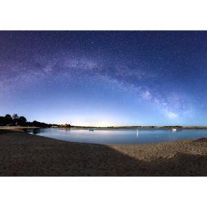 """Photo A4 à encadrer """"Bénodet : La plage du Letty et la Pointe de Mousterlin"""""""