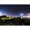 """Photo A4 à encadrer """"Port-Manec'h : le phare à la lueur de la Lune"""""""