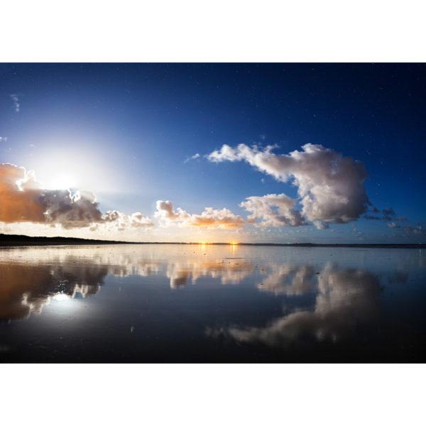 """Photo A4 à encadrer """"Plouharnel : la plage de Sainte-Barbe"""""""