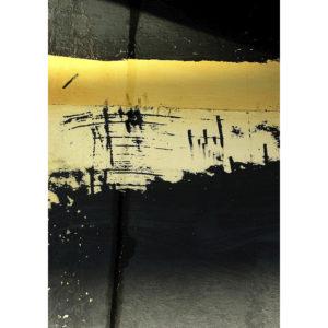 """Photo à encadrer Matières """"Coque jaune et noire"""""""
