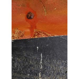 """Photo à encadrer Matières """"Orange et brun"""""""