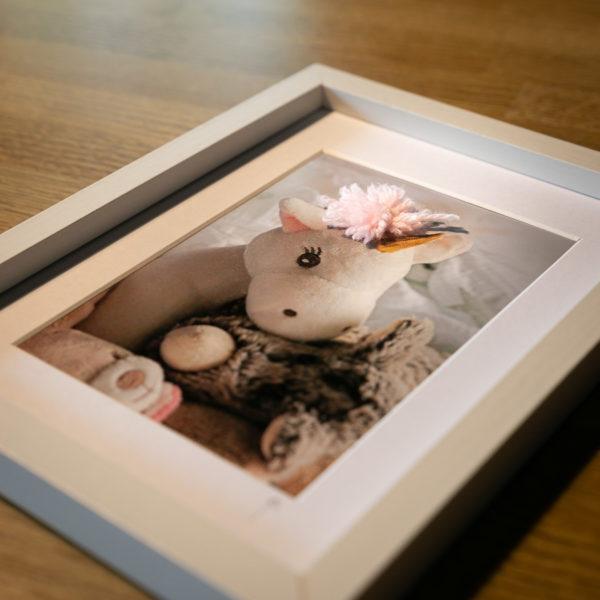 """Photo en volume """"Licorne"""" de la collection """"Sortir du cadre"""""""