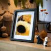 """Photo en volume """"Chien-chien"""" de la collection """"Sortir du cadre"""""""