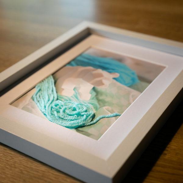 """Photo en volume """"Ours polaire"""" de la collection """"Sortir du cadre"""""""