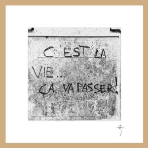"""Mini-cadre """"C'est la vie"""""""