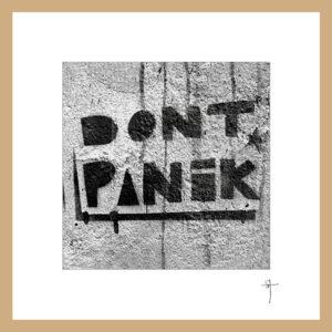 """Mini-cadre """"Don't panik"""""""